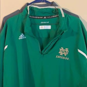 Notre Dame Adidas pullover